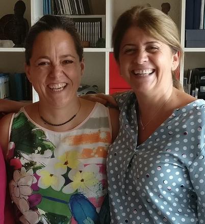 Emma González Rubio y Ainhoa Barquín